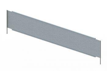 Freistehender Fachteiler verzinkt ohne Bügel,  T 800 mm