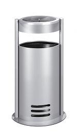 Tec-art Standascher alusilber besch. Ø 300xH 630mm