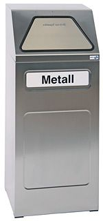Sortsystem 65 Liter, Edelstahl