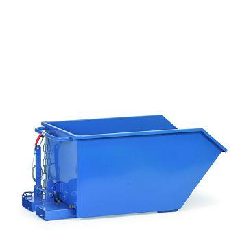 Kippbehälter + Ablasshahn Trkr.1000kg Inh. 750 Ltr.,Kastenm.1164x1241x598mm