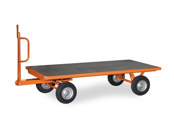 1-Achs-Industrie-Anhänger, 2000 kg Ladefläche 2000x1000 mm, Vollg.
