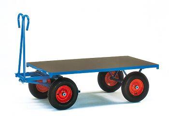 Handpritschenwagen, Plattform Tragkr.1000 kg,LxB1600 x 900mm