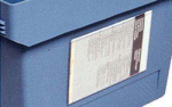 Etikettentasche 175x105mm VE = 10 Stück