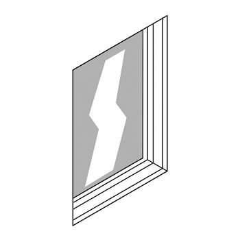 Kunststofffenster 940 x 1220 mm