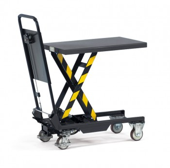 Hubtischwagen Tragkraft 150kg Ladefläche 700x450mm