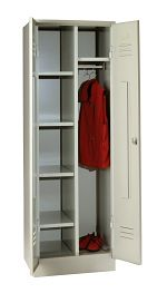 Kleider- und Wäscheschrank HxBxT 1850 x 600 x 500 mm