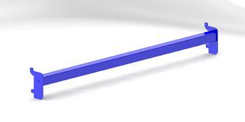 Tragschiene für Rohrkragarme RAL 5010, Länge 1.300 mm
