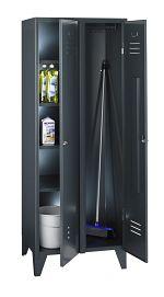 Geräte- und Putzmittelschrank HxBxT 1850 x 700 x 500 mm