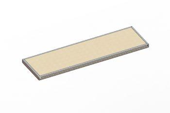 Zusatzfachebene verz. L 2000 x T 600 mm