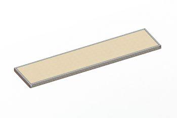 Zusatzfachebene verz. L 2500 x T 600 mm