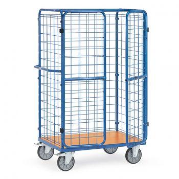 Paketwagen mit Drahtgitter- wänden, Ladefläche 1000x700mm