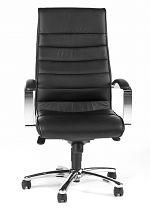 Chefsessel TD Luxe 10 Leder schwarz