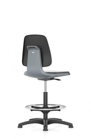 Arbeitsdrehstuhl Labsit Sitz Integralschaum schwarz /