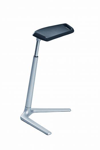 Stehhilfe Typ Fin Sitzfläche PU-Schaum schwarz