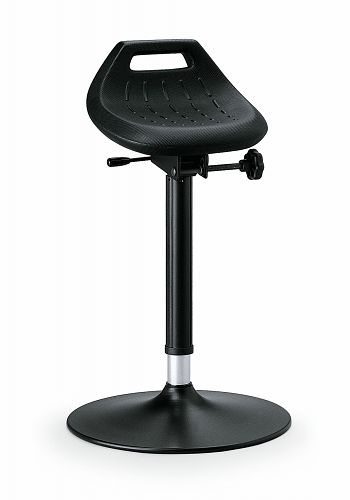 Stehhilfe mit Gasfeder- Sitzhöhenverstellung