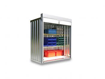 Rollladenbox RB 1100 verzinkt, montiert