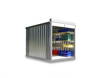 Rollladenbox RB 1300 verzinkt, montiert