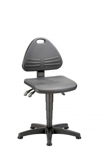 Arbeitsdrehstuhl mit Gleitern Sitzhöhenverst. von 430-600mm