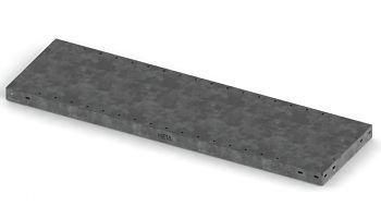 Fachboden, 230 kg, RAL 7035 1300 x 500 mm