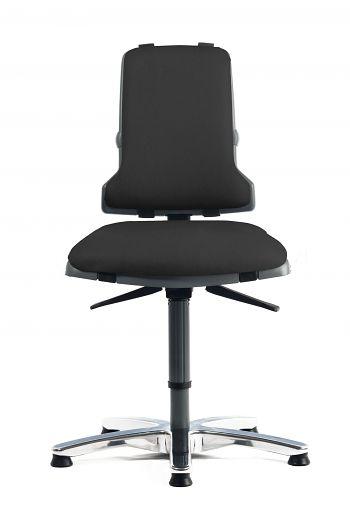Arbeitsdrehstuhl Sintec 160 Kunstlederpolster schwarz