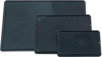 Auflagedeckel in schwarz für Länge 400 mm