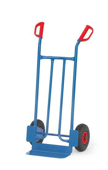 Stahlrohrkarre Tragkr. 250kg Schaufelgröße 150x400mm
