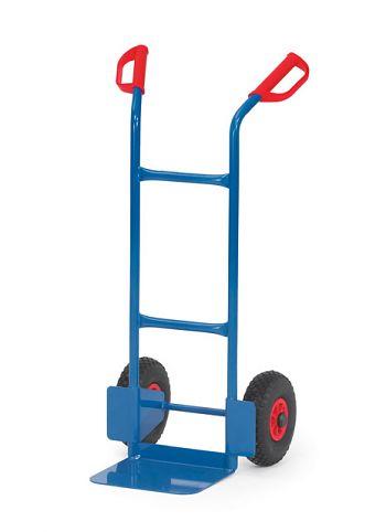 Stahlrohrkarre Tragkr. 350kg Schaufelgröße 150x450mm