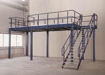 Modulbühne Tragkraft 350kg Grundfeld L3000xB4000mm