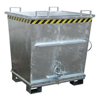 Klappbodenbehälter,verz. LxBxH 1200 x 1040 x 1270 mm