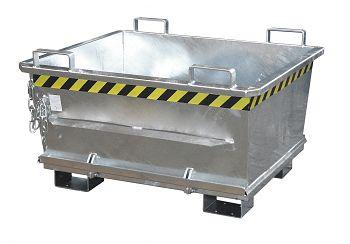 Klappbodenbehälter,verz. LxBxH 1200 x 1040 x 715 mm