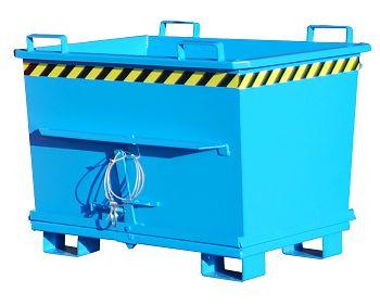 Klappbodenbehälter lack., LxBxH 1200 x 1040 x 970 mm