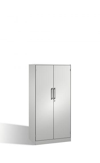 Flügeltürenschrank, Stahltüren HxBxT 1635 x 800 x 435 mm