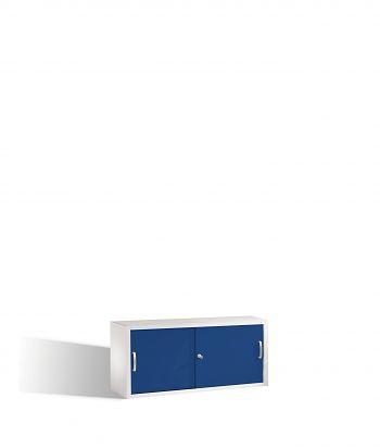 Aufsatzschrank 500x1200x400 lichtgr./blau