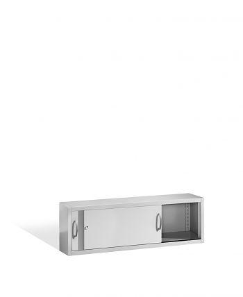 Aufsatzschrank+Mitteltrennwand 500x1600x400 lichtgr./lichtgr