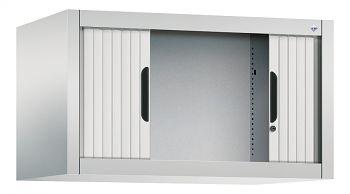 Rolladen-Aufsatzschrank für Ordner, HxBxT: 450 x 800 x 420 mm