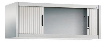 Rolladen-Aufsatzschrank für Ordner,HxBxT: 450 x 1200 x 420 mm