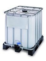 Container auf Kunststoffpalette 1000l , Standardausführung