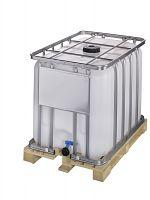 Container auf Holzpalette 600l , Standardausführung