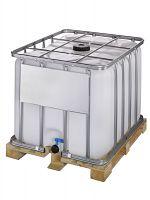 Container auf Holzpalette 800l , Standardausführung