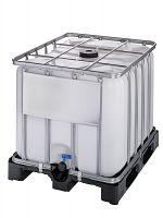 Container auf Kunststoffpalette 800l , Standardausführung