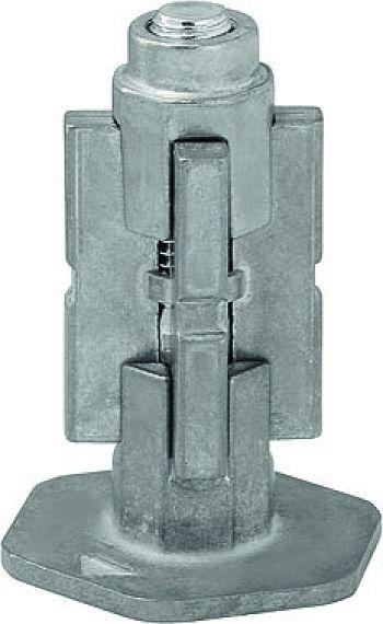 Expanderbefestigung aus Metall für Rückenloch