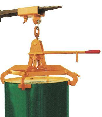 Fass- Spannklauengreifer für 200 l Stahlmantelfässer