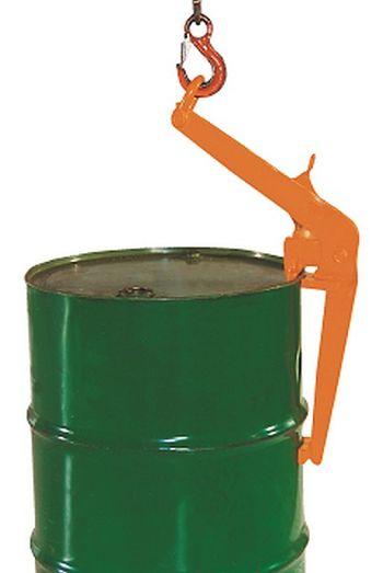 Fass-Spannklauen-Randgreifer Traglast 500 kg