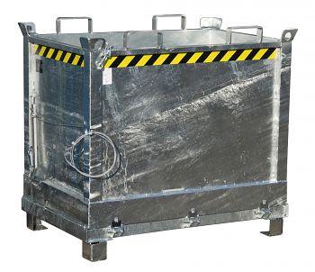 Klappbodenbehälter Typ FB 750 verzinkt
