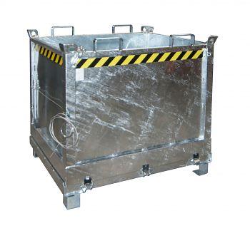 Klappbodenbehälter Typ FB 1000 verzinkt