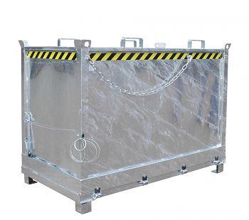 Klappbodenbehälter Typ FB 1500 verzinkt