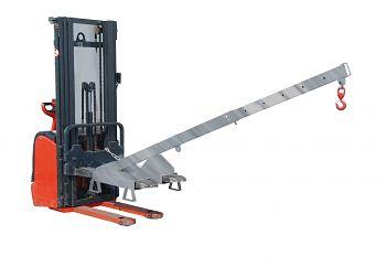 Lastarm teleskopierbar, Neigung 25° Tragkr. 125 - 1000 kg, verzinkt