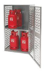 Gasflaschen-Depot gelocht 840x690x1475mm