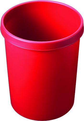 Papierkorb 45 l, rot H 480 Ø 390 mm