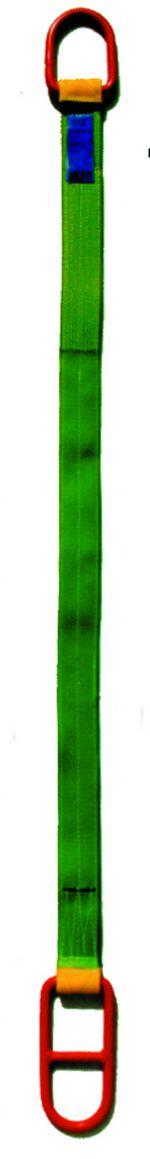 Hebeband zweilagig,4m lang volett m.Kranbügel, für1000kg
